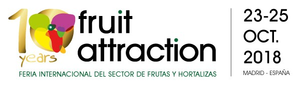 Vísitanos en FRUIT ATTRACTION 2018 23-25 Oct HALL 7,  STAND 7B10Q