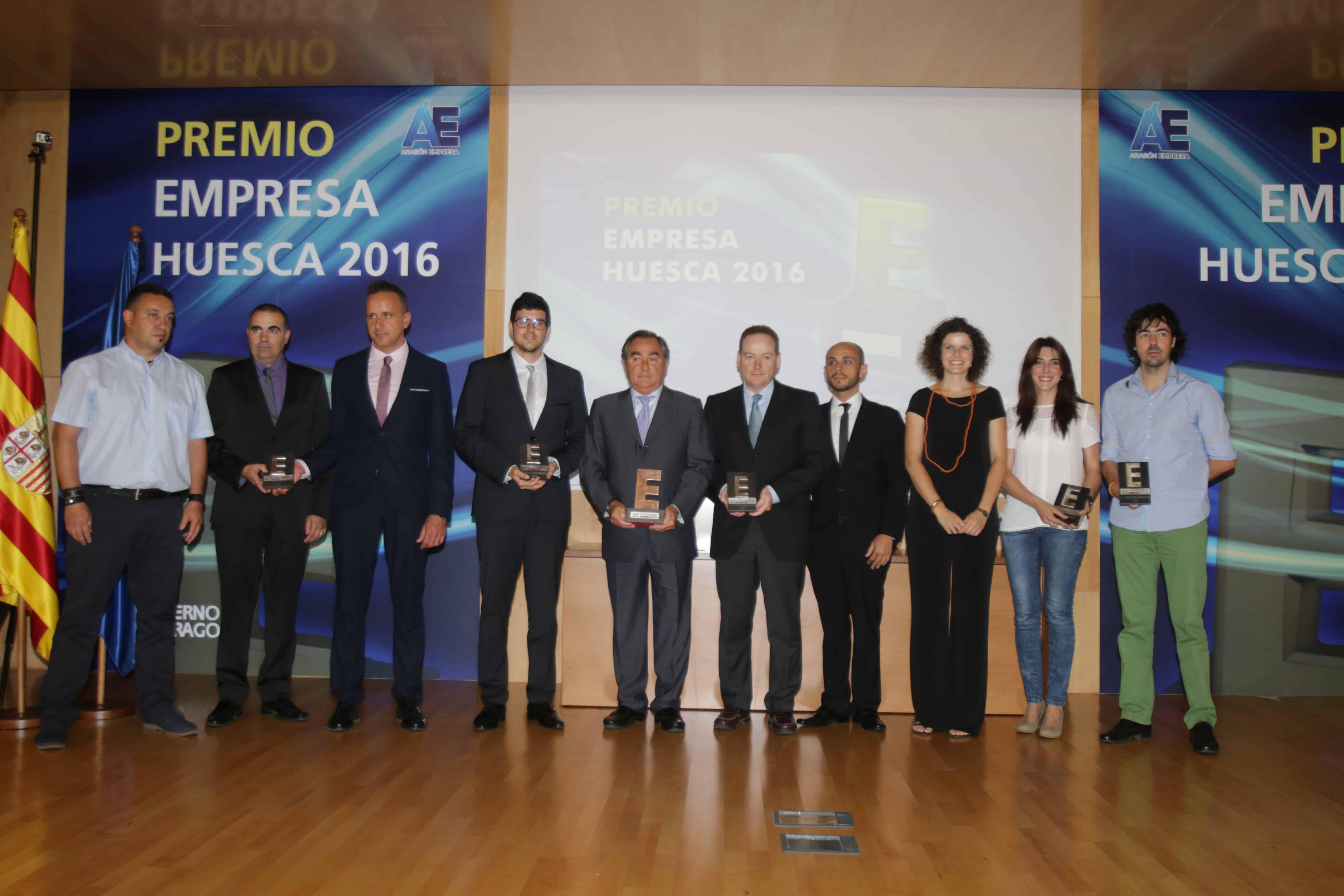Premiados en Premios Empresa Huesca 2016