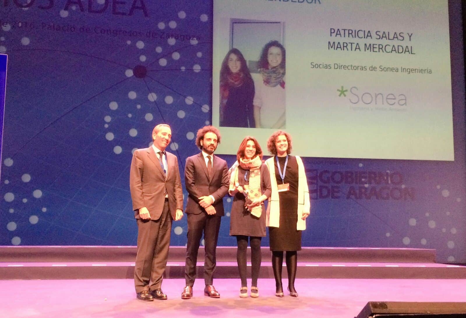 Patricia Salas y Marta Mercadal Premio ADEA 2016 al Emprendedor
