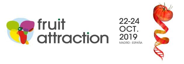 ¡Volvemos a FRUIT ATTRACTION '19! visita nuestro stand y descubre cómo mejorar la gestión de tus recursos agrícolas con teledetección y sensores terrestres