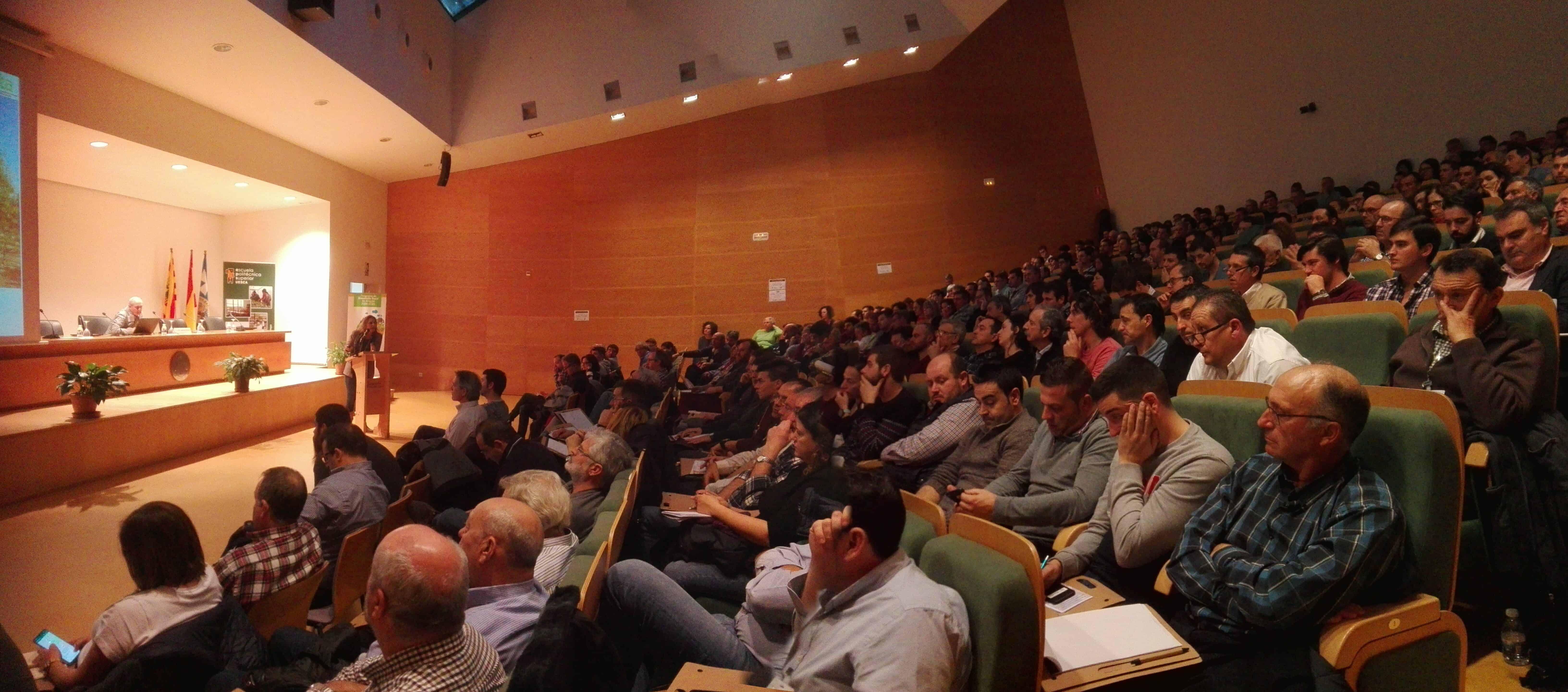 Participación en la Jornada de Almendro y Pistacho , Huesca
