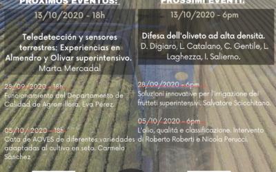 Martes 13/10/2020 SONEA-IG4 Master Class Agromillora
