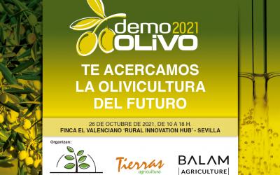 SONEA participa en DemoOLIVO 2021, el 26 de octubre en Sevilla